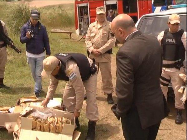 NECOCHEA: Quemaron 72 kilos de droga