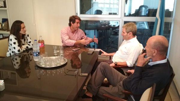ELECCIONES 2019: Gonzalo Diez busca el apoyo de Lunghi, adversario de Vidal