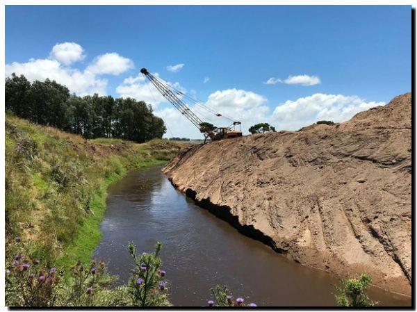 LOBERÍA: Avances en obra hidráulica en la intercuenca el Moro-Malacara