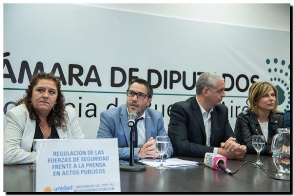 PROVINCIA: Presentan proyecto para prevenir la violencia institucional