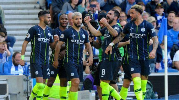 FÚTBOL: Manchester City goleó a Brighton y ganó su sexta Premier League