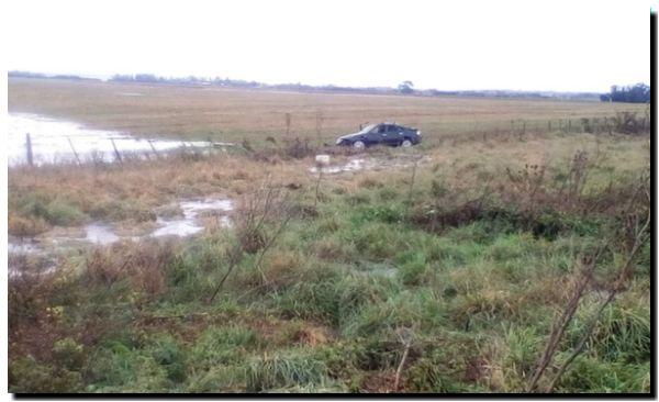 RUTA 88: Se despistó un auto