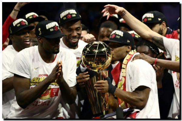 DEPORTES: Raptors destronan a Warriors y hacen historia en la NBA