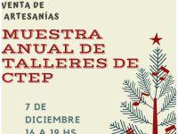 Muestra anual y venta de artesanías de CTEP Necochea Quequén