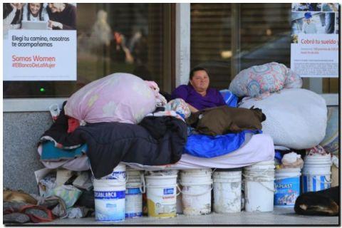Macri termina su mandato con más de 40% de pobres