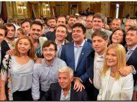 En La Plata, Rojas participó de la presentación de la Tarjeta Alimentaria