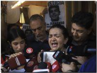 «Estoy muerta en vida», dijo la madre de Fernando Báez Sosa