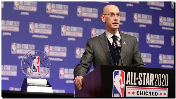 El comisionado de la NBA ve sombrío el futuro de la liga