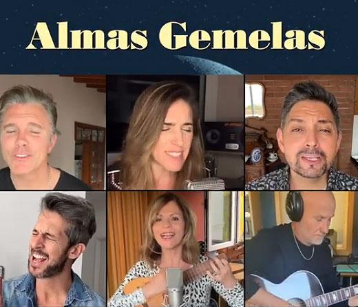 """Marcela Morelo versiona en casa """"Almas Gemelas"""""""