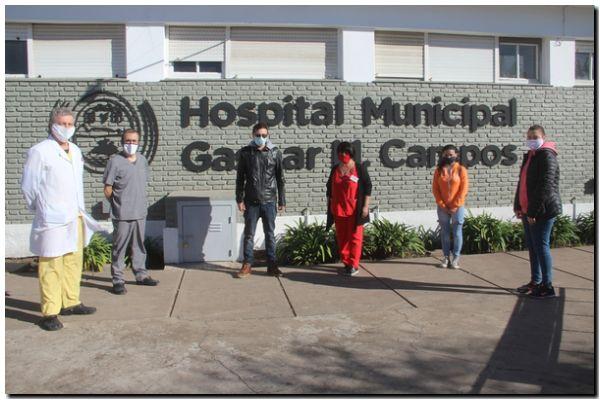 LOBERÍA: Alumnos prestan servicio en el sistema de salud