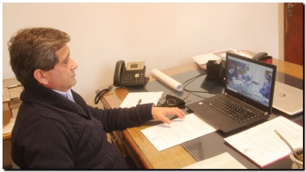 LOBERÍA: Convenio con Provincia y asume nuevo Jefe Policial Comunal