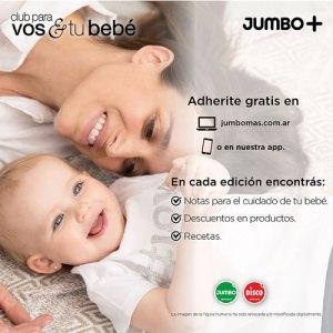 Jumbo Club para vos & y tu bebé