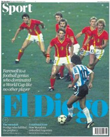 tapa maradona guardian deport