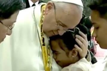 """Papa Francisco: """"lo importante es amar"""""""