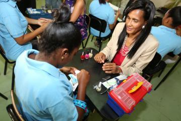 Despacho de la Primera Dama inicia curso técnico para adolescentes