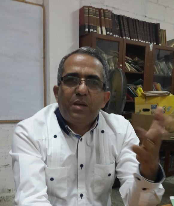"""Decano de Humanidades  afirma atrasos en  reconstrucción """"no es culpa de la UASD"""""""