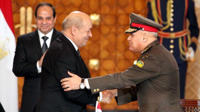 Egipto compra a Francia armamento por US$5.9 mil millones