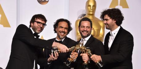"""""""Birdman"""" triunfa en los Oscar"""