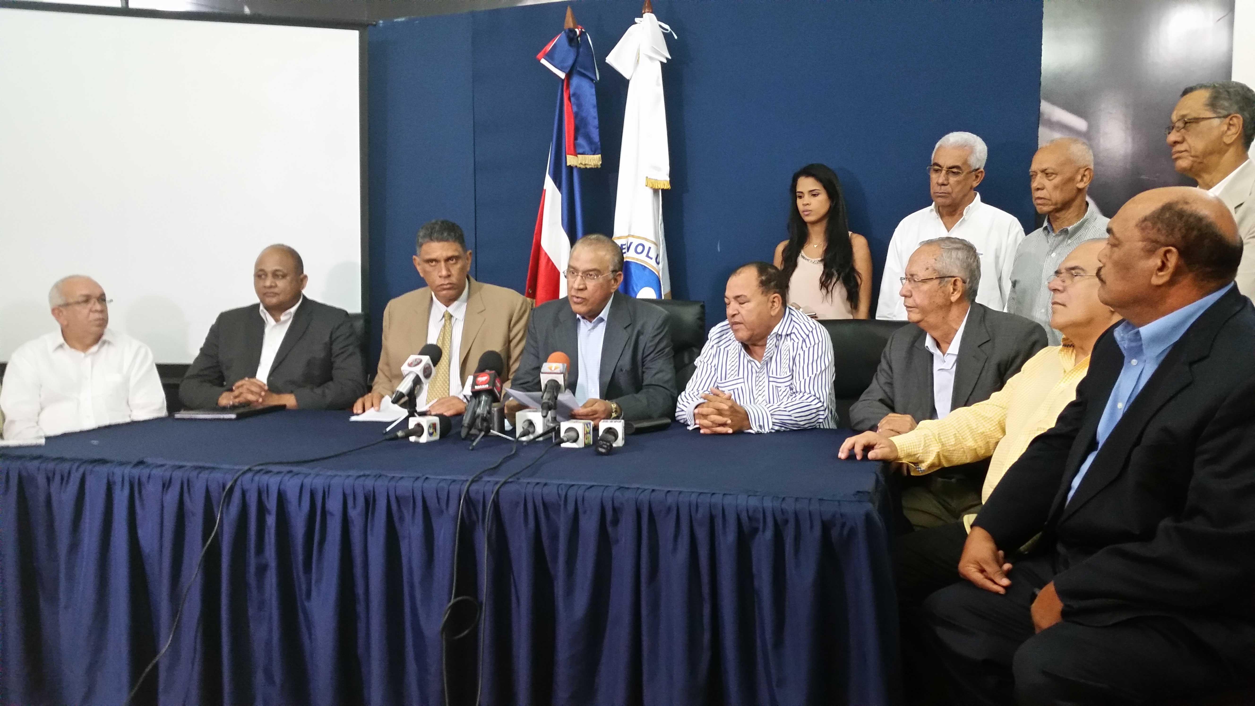 PRM ataca discurso del Presidente Medina.