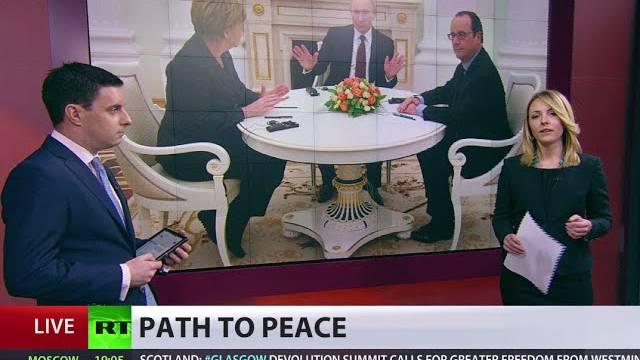 Comienza la cumbre de Ucrania