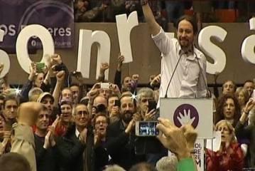 Podemos ya es la segunda fuerza política en España