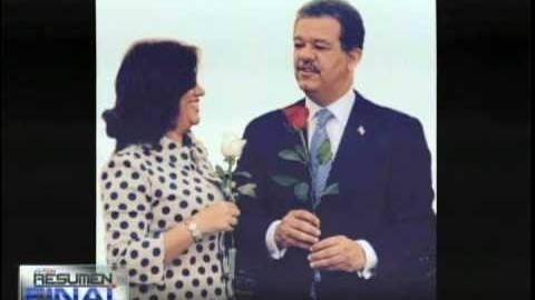 Margarita y Leonel, una pareja feliz