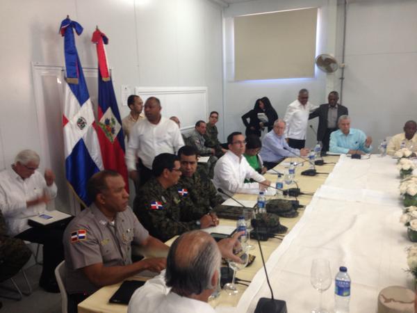 Comienza la reunión entre cancilleres de Haití y RD en Jimaní