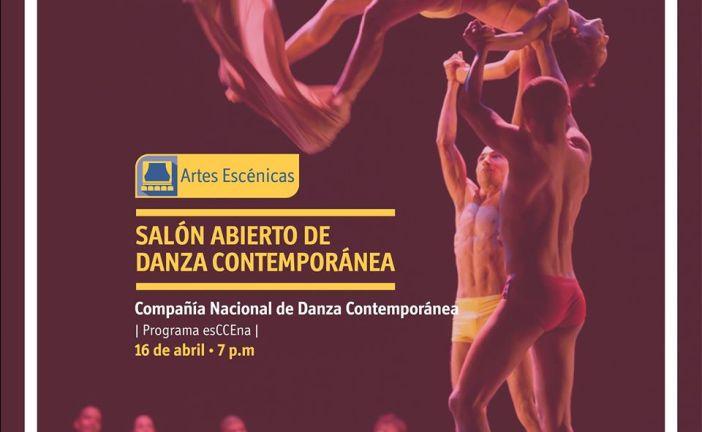 Hoy a las 7pm presentarán Danza Contemporánea en el CCE