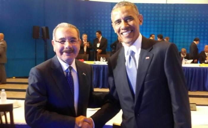 Danilo comparte con Obama y otros mandatarios del SICA