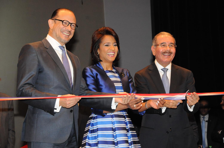 Presidente Danilo Medina encabezó inauguración de la  XVIII Feria Internacional del Libro Santo Domingo 2015