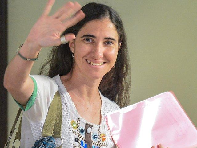 """Yoani Sánchez: """"No espero que Obama vaya a reclamar nuestros derechos"""""""