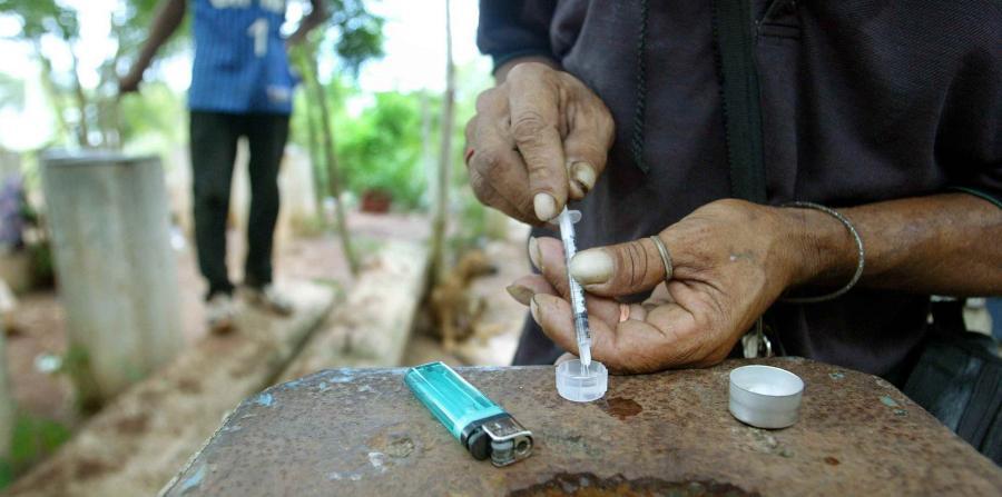 Crece el consumo de heroína en el país