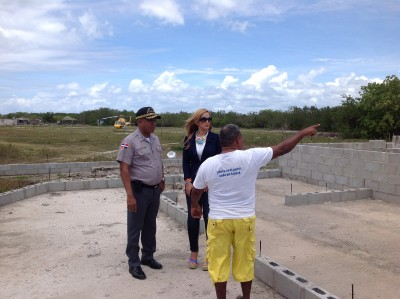 Construyen destacamento policial en la Isla Saona