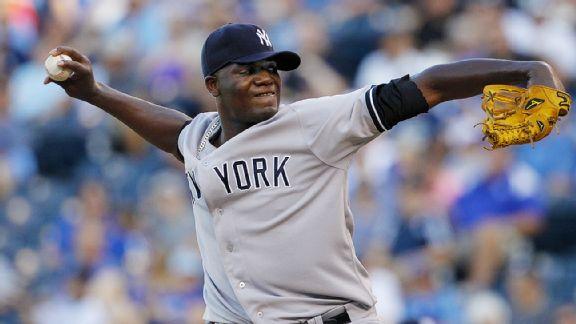 Pineda y Rodríguez dan victoria a los Yankees