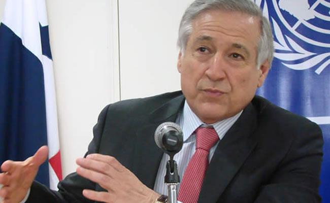 El canciller Heraldo Muñoz: único sobreviviente en el gabinete de la Bachelet