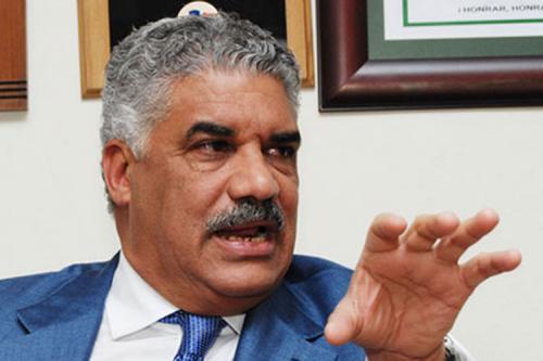 Miguel Vargas reitera que el PRD debe encabezar el frente opositor