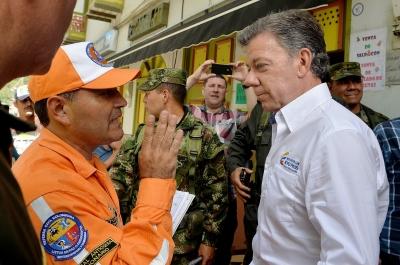 Alud deja al menos 49 muertos en Colombia