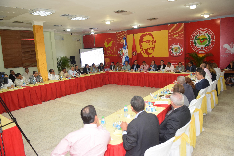 PRSC designa comisión para estudiar proyecto de reforma constitucional