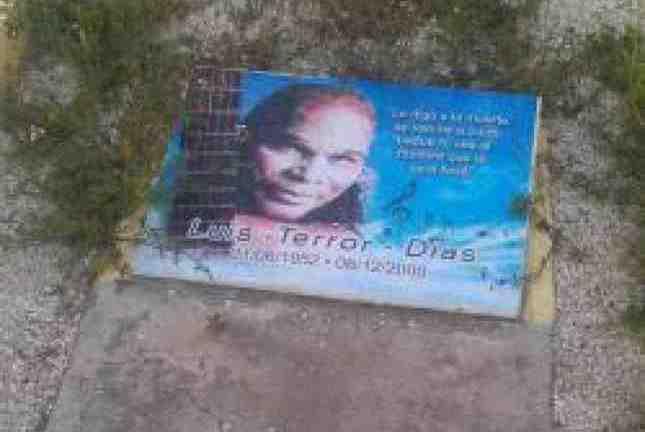 El lugar de descanso  del Maestro de la Música Dominicana, Luís Días, luce en total abandono