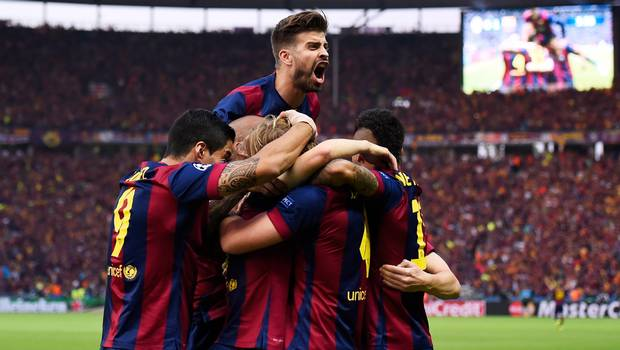¡ Barcelona vence al Juventus !