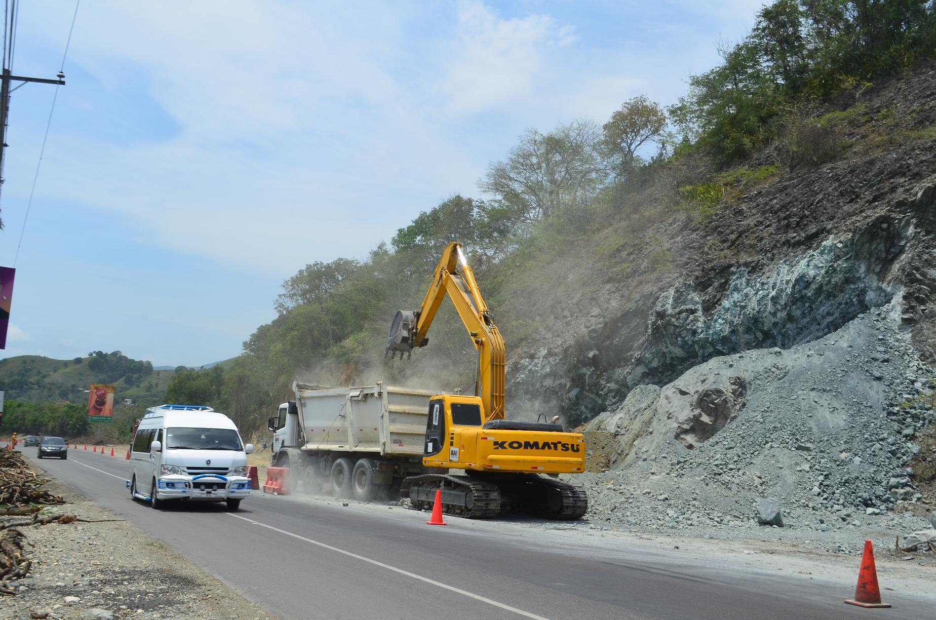 Obras Públicas inicia ampliación de carretera Maimón-Puerto Plata