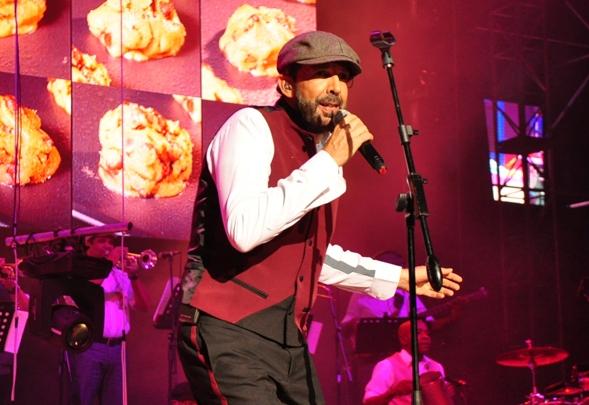 Juan Luis Guerra arrasa en su concierto benéfico