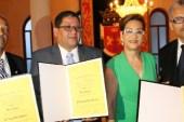ADN reconoce a tres ex presidentes del Colegio de Notarios