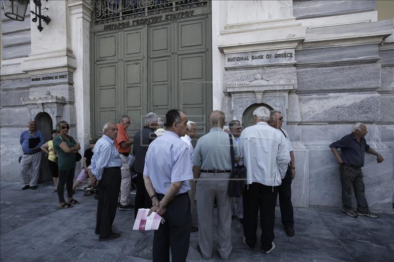 Grecia en corralito. La mayoría de los jubilados no cobran sus pensiones