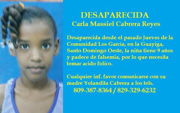 VIDEO. Clara Massiel sigue desaparecida
