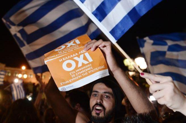 """Grecia dice """"No"""" a los  usureros internacionales"""