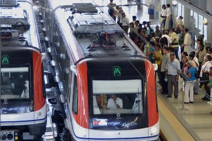 Este jueves, otra falla técnica en  la Línea 2 del Metro de Santo Domingo
