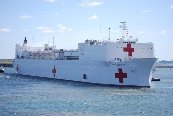 Buque Hospital USNS COMFORT brindará servicios médicos gratis