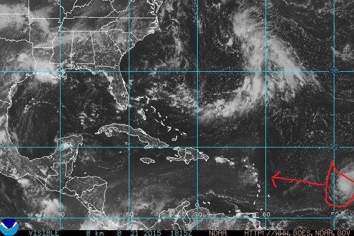 Danny se convierte en peligroso huracán categoría 3. Avanza con vientos de 185 kilómetros por hora