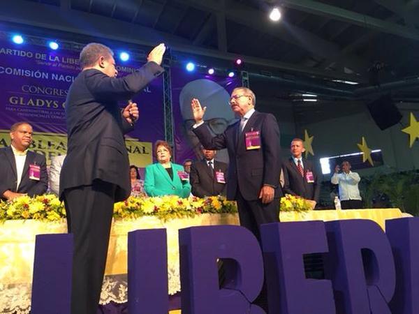Danilo le jura a Dios que no será jamas presidente de la República